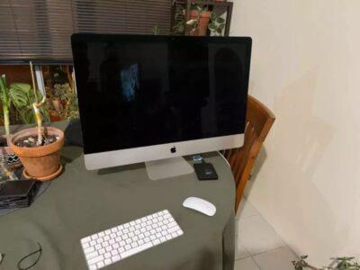 2019 iMac with 27 inch retina display