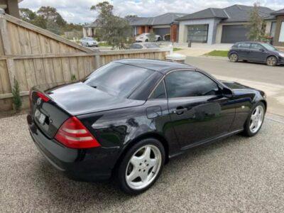 Convertible Mercedes-Benz Auto (RWC/REGO)