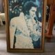 Elvis Presley picture with clock