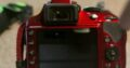 Nikon D3300 – Red, 4 X lens & accessories
